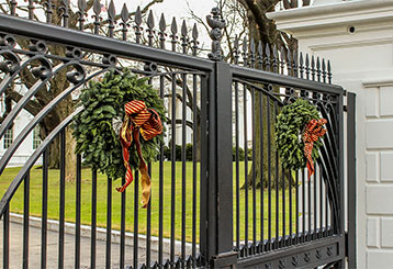 Decorate your Gates this Christmas | Gate Repair Los Angeles, CA